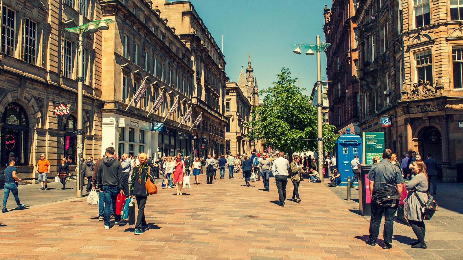 苏格兰格拉斯哥(Glasgow), 曾经大英帝国第二城