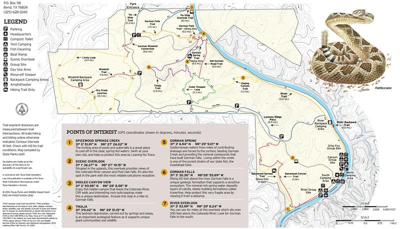 Colorado Bend State Park (Trails)