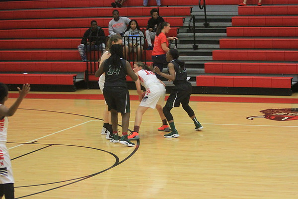 NE V Girls Baskeball vs St. Pete 12-8-17