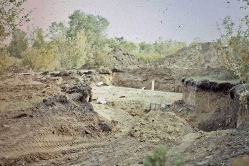 1974-09 - Basement excavation