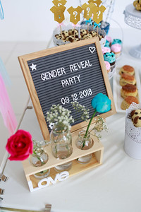 181209 Gender Reveal Party