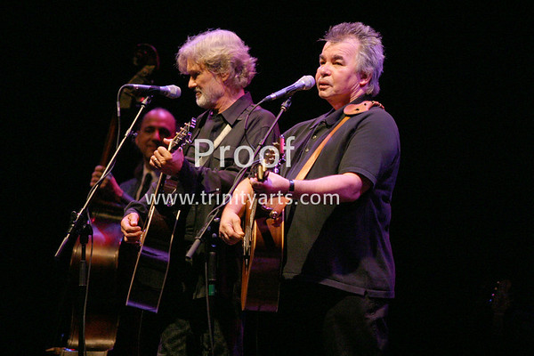 Kris Kristofferson and John Prine, August 2004