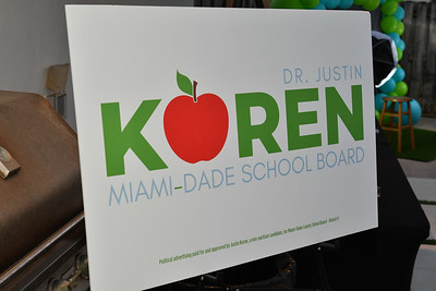 Dr. Justin Koren For School Board - Campaign Kick-Off!