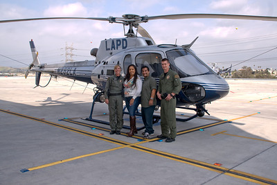 LAPD HELO RIDE