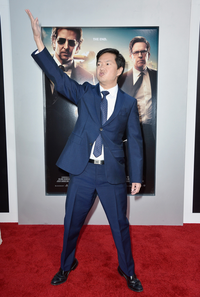 """. Actor Ken Jeong attends the premiere of Warner Bros. Pictures\' \""""Hangover Part 3\"""" at Westwood Village Theater on May 20, 2013 in Westwood, California.  (Photo by Frazer Harrison/Getty Images)"""