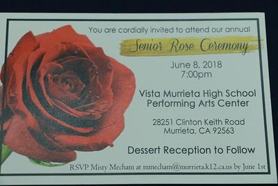 Senior Rose Ceremony