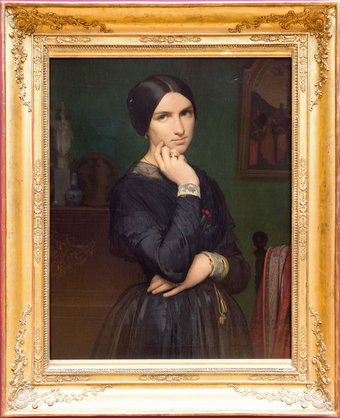 Jean-Hippolyte Flandrin, Portrait of Madame Flandrin, 1846