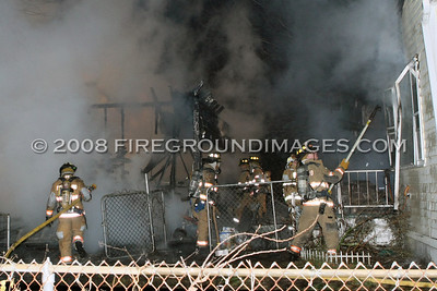 Oakland St. Fire (Stratford, CT) 11/22/08