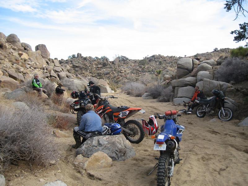 Primo 100 Jan 1, 2010 Bruce, Gearheart, Riceless, Toast, Nowwhat, Razr Great Ride!