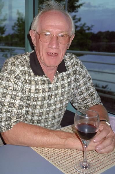 Colin Holmes, 2001.