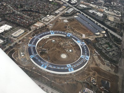 Apple Park construction series
