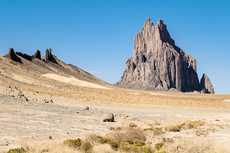 Shiprock in Northwest New Mexico