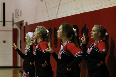 Cheer @ Manchester Basketball