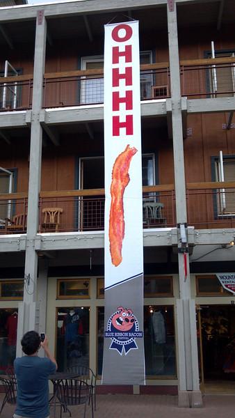 Bacon Festival at Keystone.