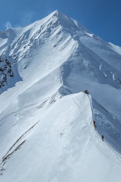 Ascending towards Puy de Sancy