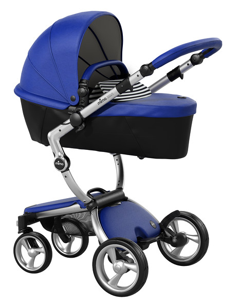 Mima_Xari_Product_Shot_Royal_Blue_Aluminium_Chassis_Black_And_White_Stripe_Carrycot.jpg