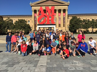 Seventh Graders Explore the City of Brotherly Love