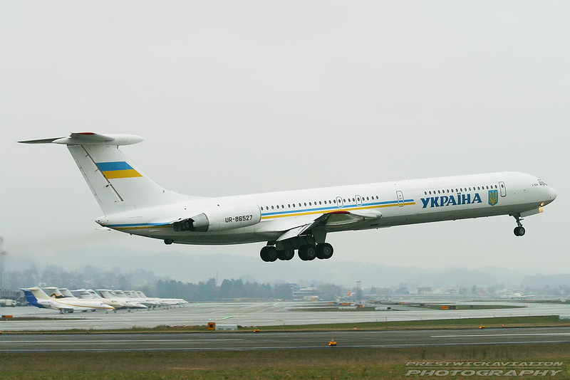UR-86527.  Ilyushin Il-62M. Ukraine Government. Zurich. 260103.