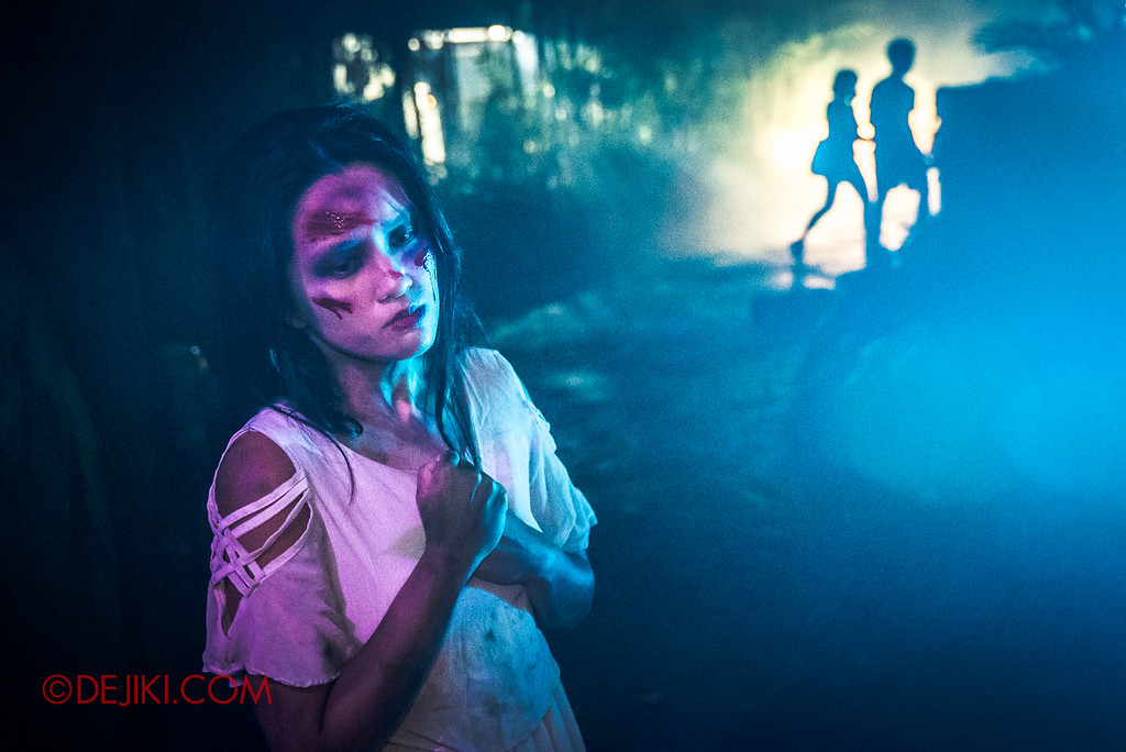 Halloween Horror Nights 6 Final Weekend - Suicide Forest / heartbreaker