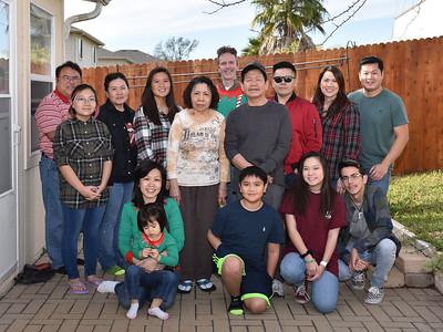 Christmas 2017 Vo Family