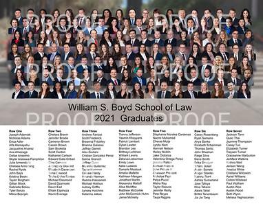 UNLV Law 2021 Graduation group photo