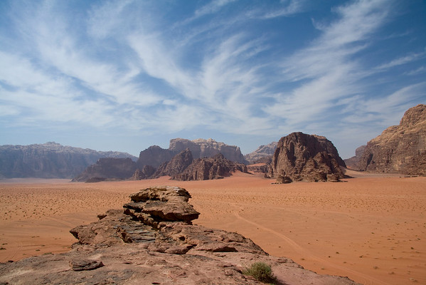 Camping in Wadi Rum, Jordan - May 2009