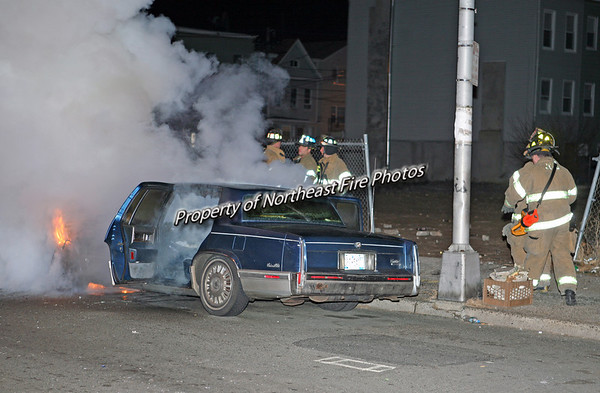 Jersey City- Montecello and Communipaw- Auto Fire