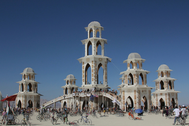 Temple of Transition - Burningman 2011