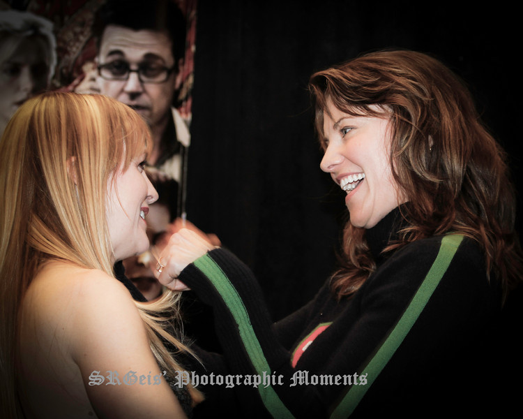 Lucy with Renee Xena Con 2011