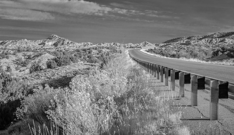 Southwestern US in Black and White