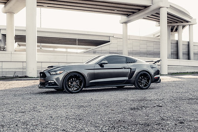 Blaque Diamond Wheels - Antonio's Mustang BD 17-6