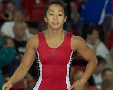 Women's Freestyle Championships 48 kg: Clarissa Chun (Sunkist Kids) def Patricia Miranda (Sunkist Kids)