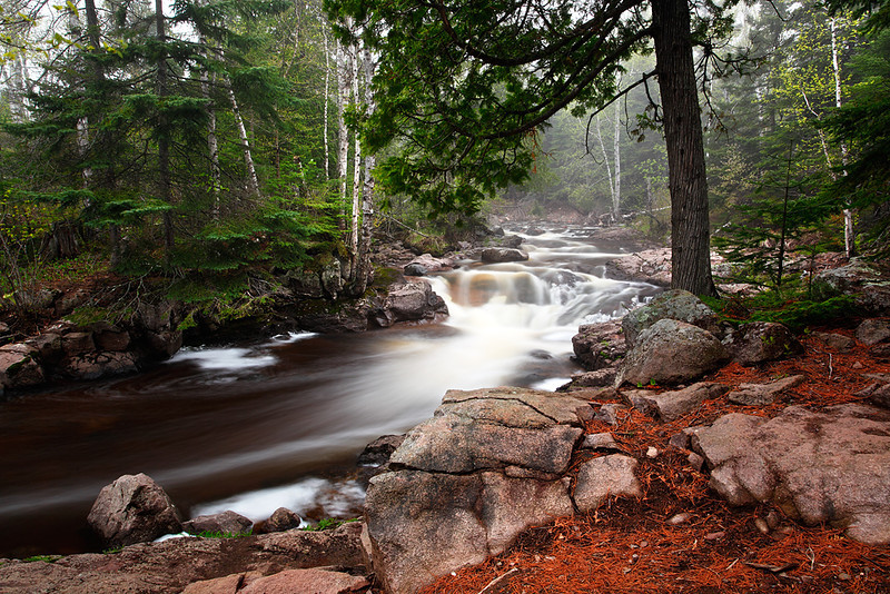 Flowing Solitude - Beaver Slap Rapids (Caribou River - Minnesota)