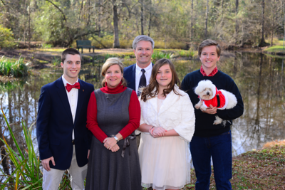 2015 12 20 Christmas photos, Crayne Family