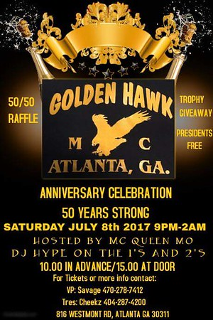 Golden Hawks 50th Anniversary Party