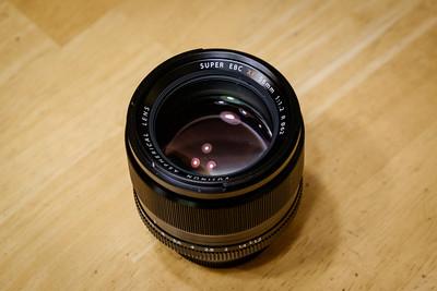 Fuji 56mm f/1.2 Lens