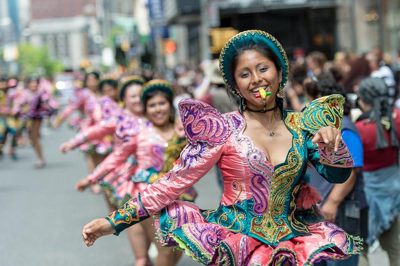 Caporales Centralistas San Miguel VA - USA - Bolivian Tinkus