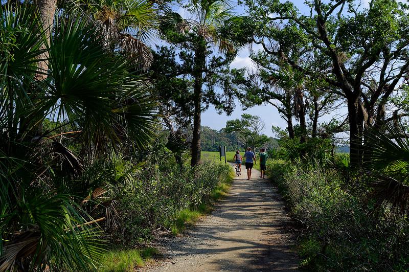 Exiting Hammock Island
