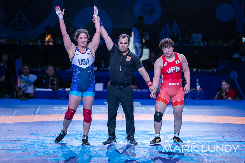 1st Place Match: Adeline Maria Gray (United States) over Hiroe Minagawa Suzuki (Japan)  •  Dec 4-2 - 2019 World Championships