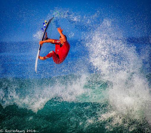 Surfers and Flowers @Laguna Niguel, CA