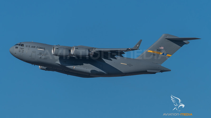 USAF 437th / 315th / Boeing C-17 Globemaster III / 07-7187