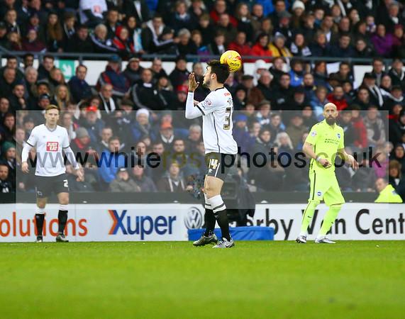 Derby County v Brighton 12 - 12 - 15
