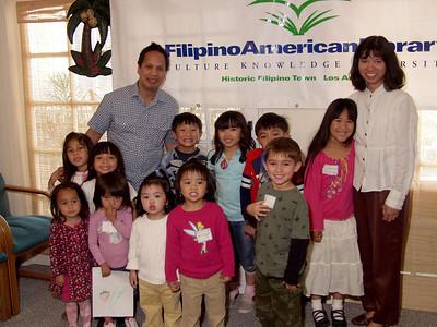 1st FAL Children's Reading Program March 29, 2008 at FASGI