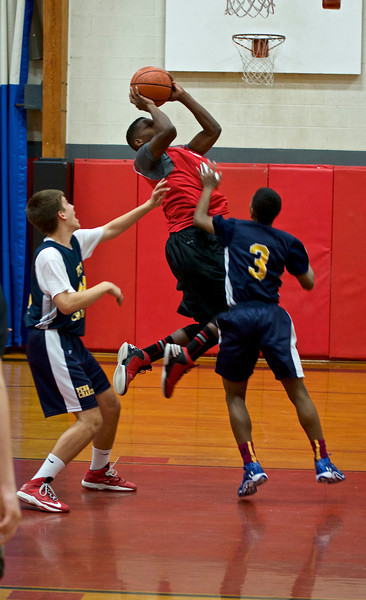 Middle School Boys' Basketball: GA vs Penn Charter