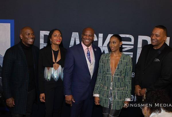 Black and Blue Screening in Atlanta