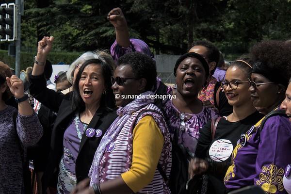 Women's March. Geneva. 2019