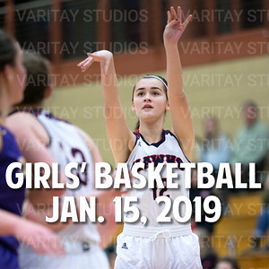 Prairie Girls Basketball 1-15-2019