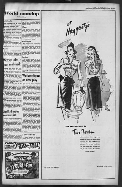The Trojan, Vol. 35, No. 66, December 31, 1943