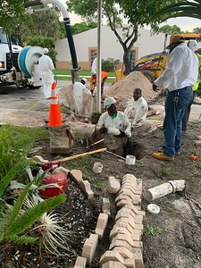 City of Miami Water & Sewer after I moved back in