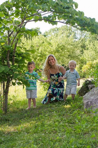 Hill Family {Maine Visit}